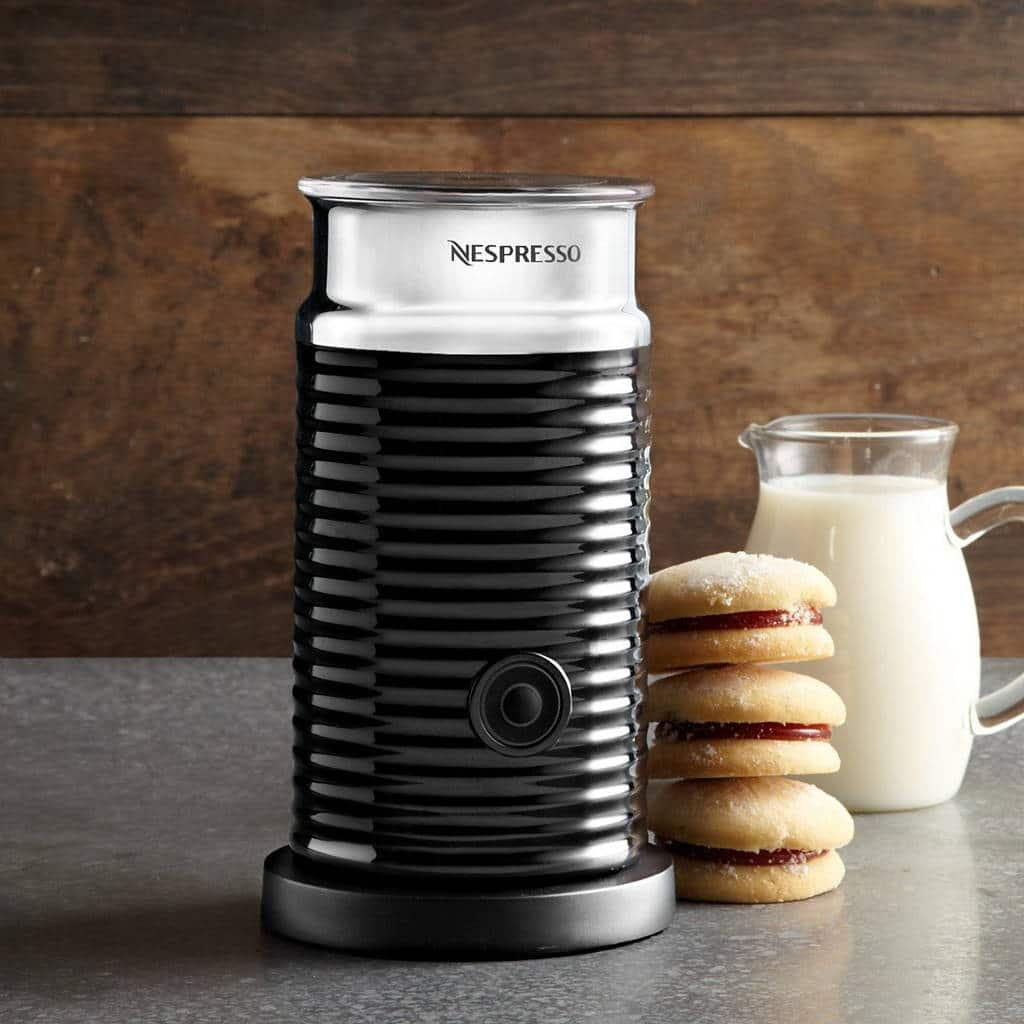 mousseur a lait nespresso aeroccino biscuits